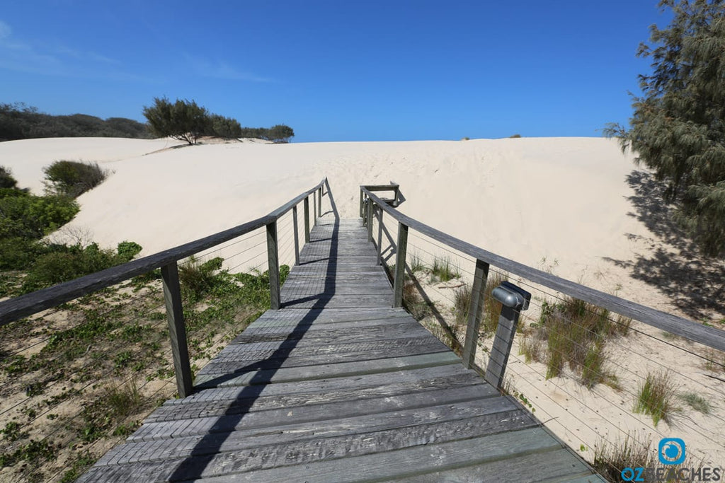 Walkway to the beach at South Stradbroke Island