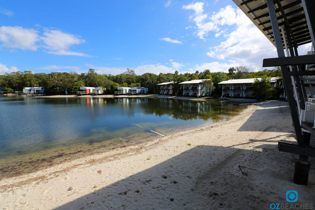 Typical accommodation at Couran Cove Resort on South Stradbroke Island