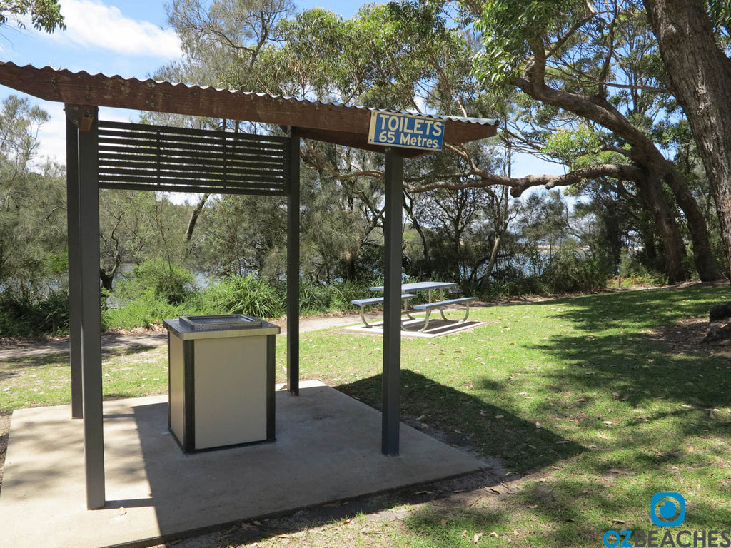 Decent picnic and park amenities at Tabourie Lake