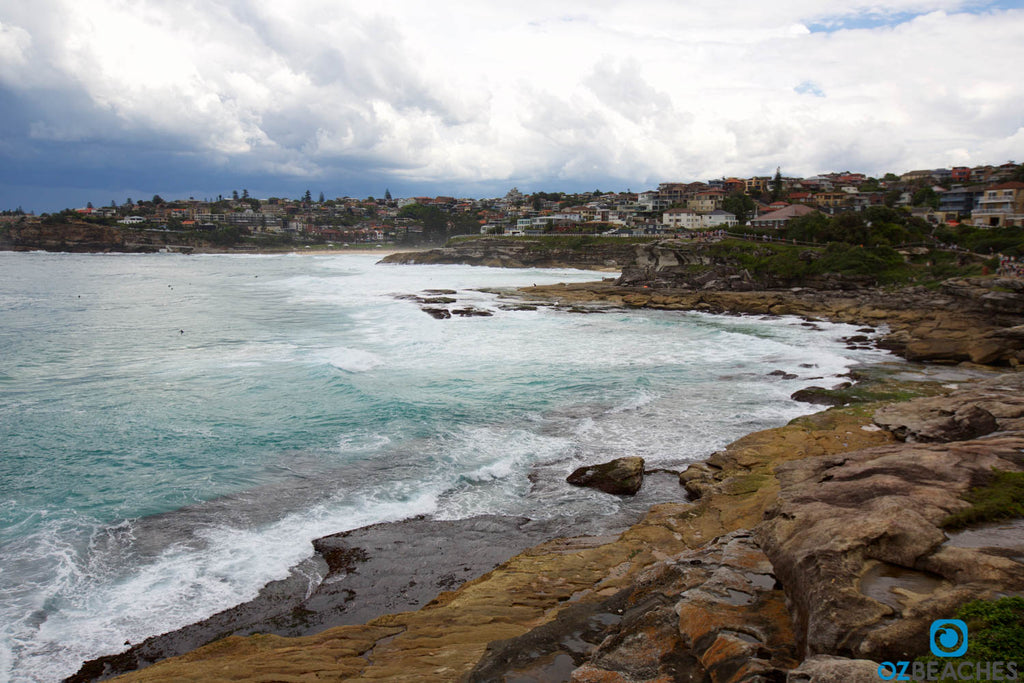 Looking south from Mackenzies Bay towards Tamarama and Bronte beaches