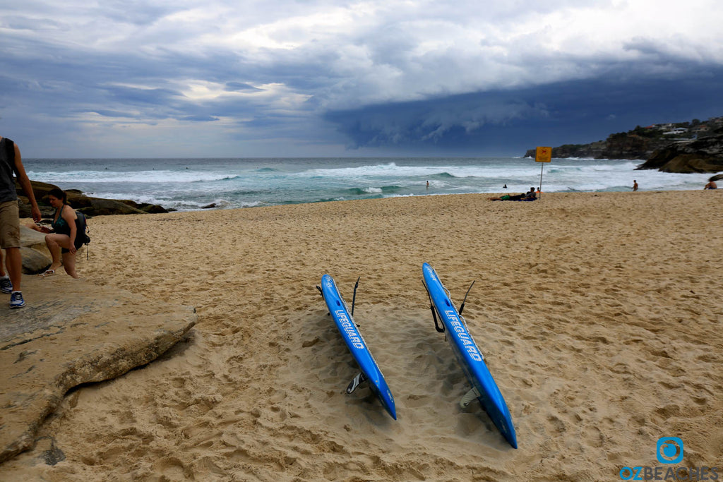 Tamarama Beach has strong rips and a high number of rescues each year are made here.