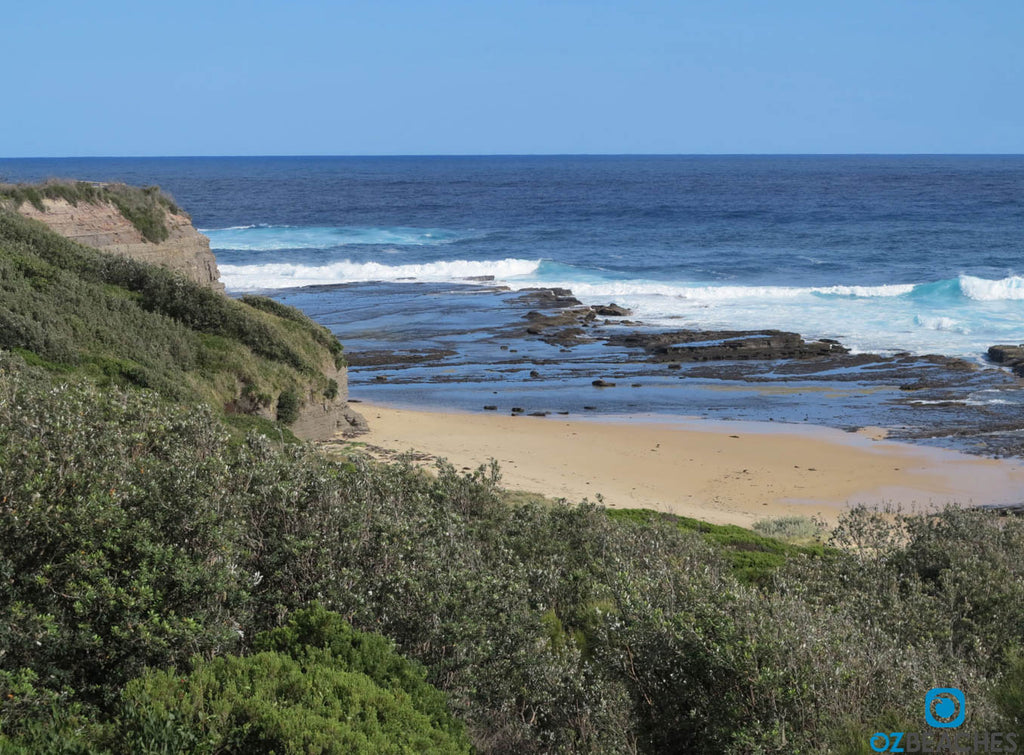 The Bommie at Ulladulla NSW is a nice place for a long walk along the beach