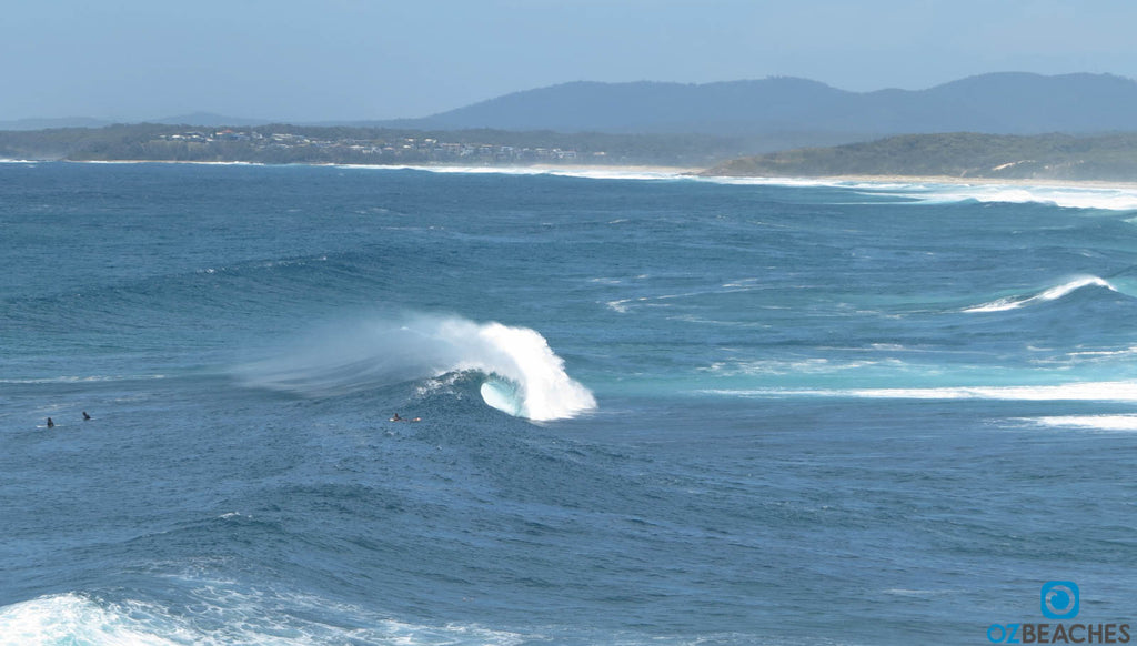 The Bommie at Ulladulla NSW, surf is absolutely firing