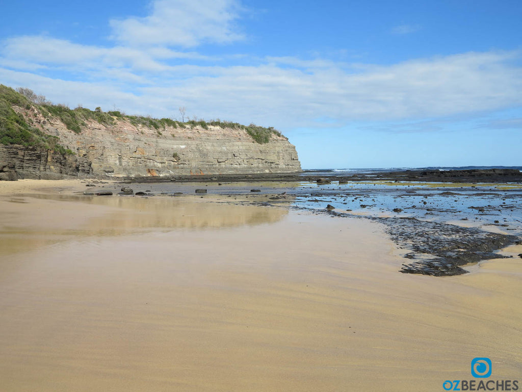 The northern corner near The Bommie at Ulladulla NSW