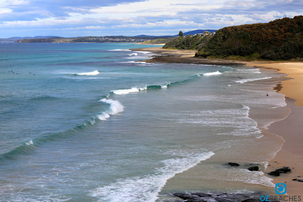 Takes a little walk down the hill but is worth it when you get there - Rennies Beach Ulladulla NSW