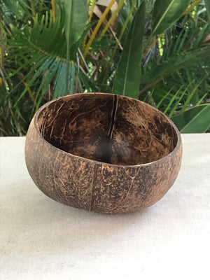 Jumbo coconut bowl - natural