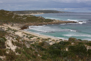 Photograph of the picturesque limestone coastline at Gas Bay, Margaret River WA