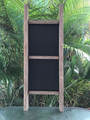 Vintage ladder board - large