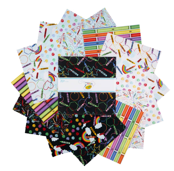 I Dream in Color // Precuts 10 inch Stacker