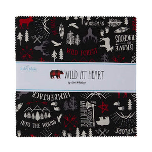 Wild At Heart // Precuts 10 inch Stacker