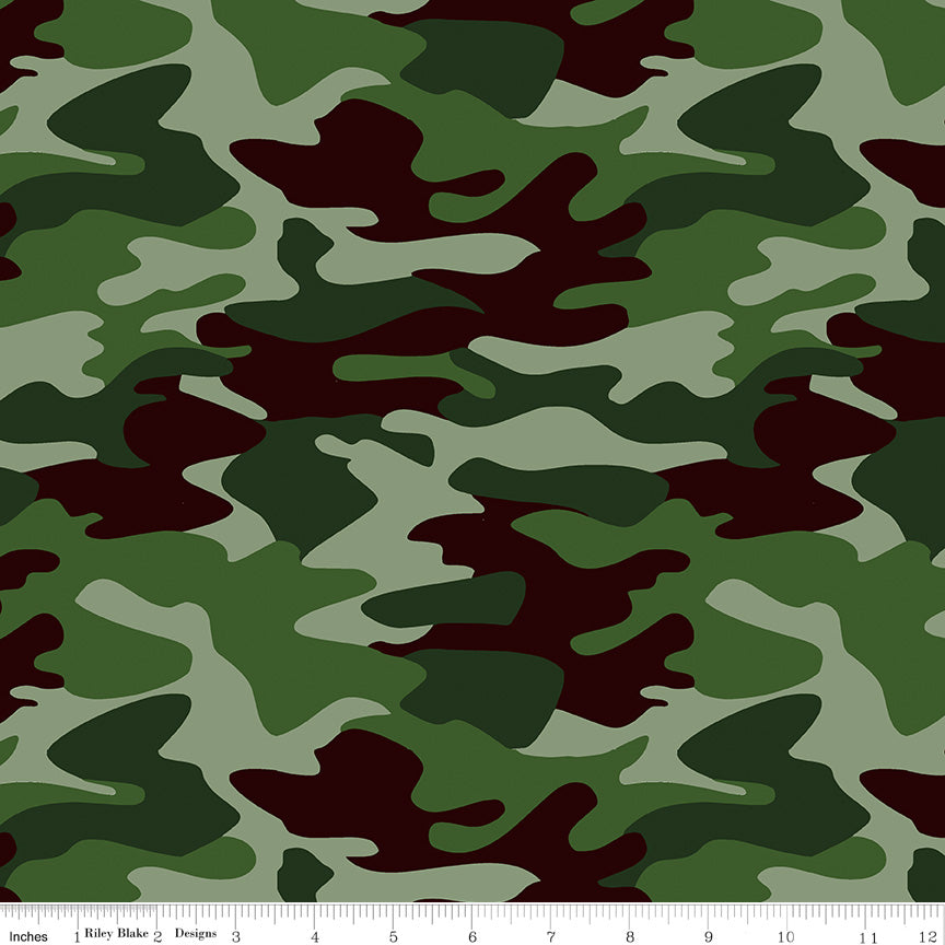 Green Camo // Nobody Fights Alone