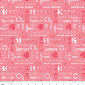 Nurses Care in Pink // Nobody Fights Alone