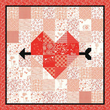 Load image into Gallery viewer, Arrow Heart Quilt and Table Runner Pattern Pre-Order