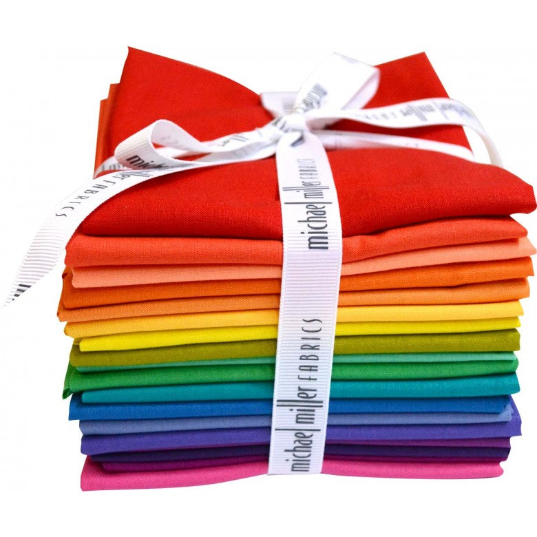 Cotton Couture Color Wheel Rainbow // Precuts FQ Bundle