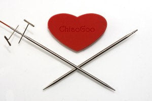 "5"" (13 cm) COMPLETE Interchangeable Knitting Tip Set by ChiaoGoo 