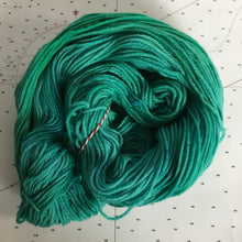 Load image into Gallery viewer, Mermaid | Worsted Merino Teal Green Blue Ocean Lagoon Sea Summer Nautical Semi Solid Tonal Superwash Wool / Indie Hand Dyed Ready to Ship