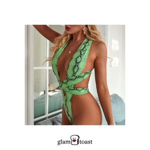 Bardot One Piece - Mint Green