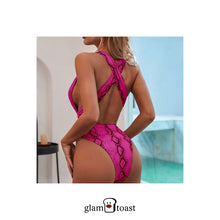 Load image into Gallery viewer, Bardot One Piece - Watermelon Pink
