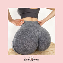 Load image into Gallery viewer, Anti-Gravity Booty Boost Biker Shorts - Bronx Grey