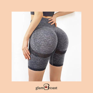 Anti-Gravity Booty Boost Biker Shorts - Bronx Grey