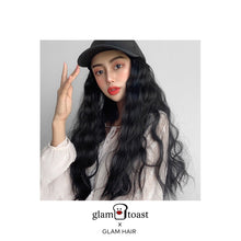 Load image into Gallery viewer, Ready-to-wear Glam Wig Cap - Jet Black