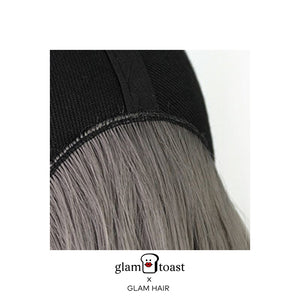 Ready-to-wear Glam Wig Cap - Space Grey
