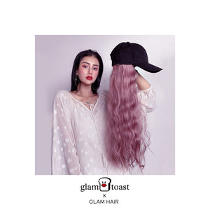 Ready-to-wear Glam Wig Cap - Lemonade Pink