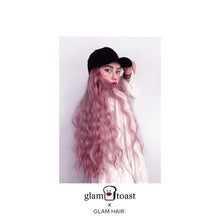 Load image into Gallery viewer, Ready-to-wear Glam Wig Cap - Lemonade Pink