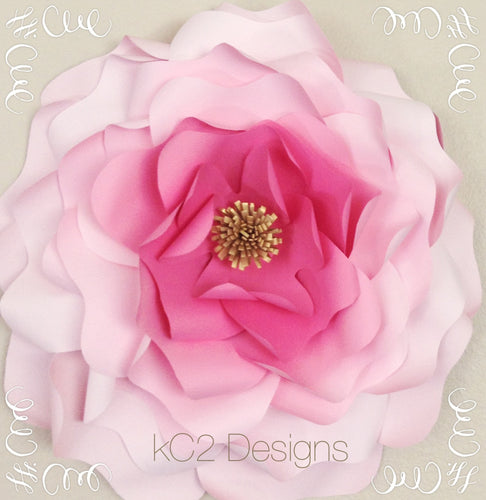 Giant paper flower. jumbo paper flowers. paper flowers. YOUR COLORS. Wedding centerpiece. paper flower wall. wedding decor. party decor.
