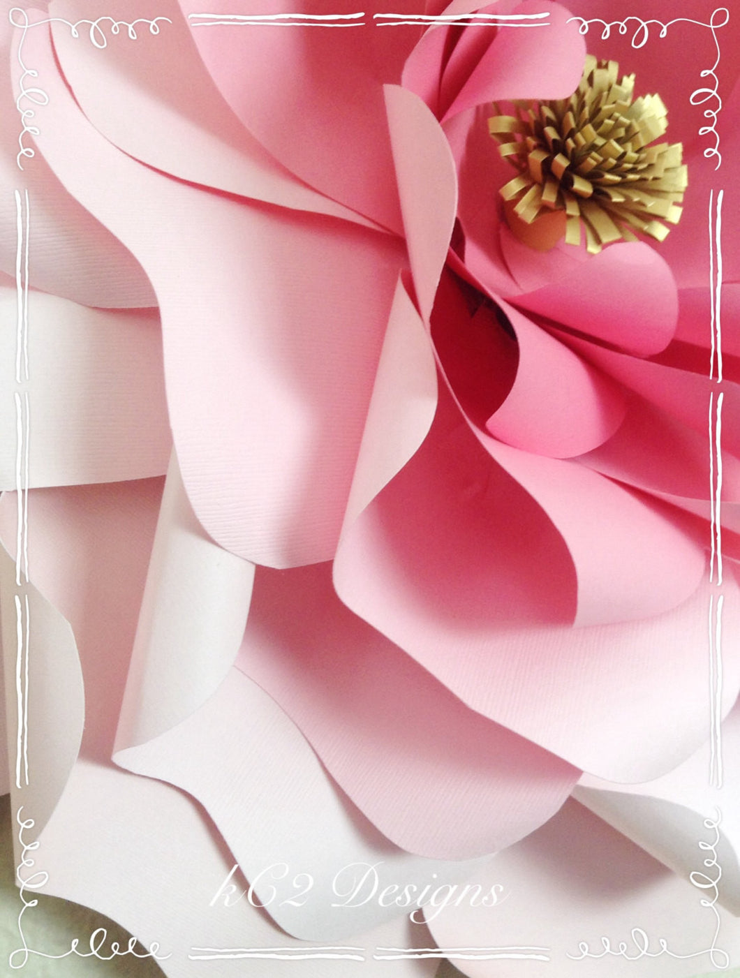 Giant paper flower. jumbo paper flowers. paper flowers. YOUR COLORS ...