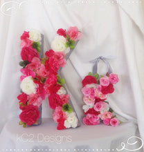 Kate Spade Inspired. Monogram letter. kater Spade Inspired decor. YOUR COLORS.