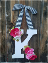 Kate Spade Inspired. Monogram letter. Wedding decor. Kate Spade Indspired wedding. Kate Spade Indspired shower. YOUR COLORS.  birthday party