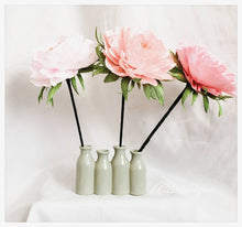 Peonies. Paper peronies. Crepe paper flowers. wedding centerpiece. weddng bouquet. crepe paper. paper flowers. blush paper flowers. peony