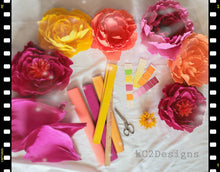Giant paper flowers. Crepe Paper Flowes. flower backdrop. Prom Decor. Room decor. Paper Flower Backdrop. Photo Backdrop.