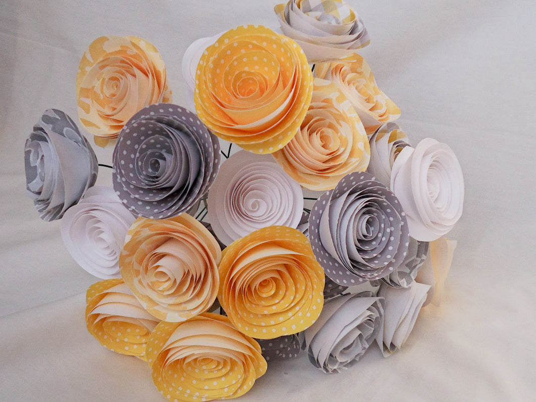 24 Yellow And Gray Roses Yellow And Gray Wedding Yellow And Gray