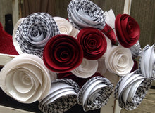 Alabama. Red and white flowers. Houndstooth. College gifts. University of Alabama