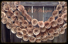 Farmhouse decor. Paper Flower Garland. Book page flowers. wedding trends. Vintage wedding. Rustic wedding. Tea stained flowers. pink roses.