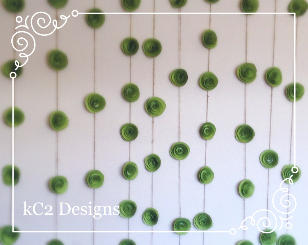 Flower Garland. Paper Flower wall. Paper Flower Garland. Paper flower wall. garland Wedding Garland.  Party Garland. Party decoration. paper