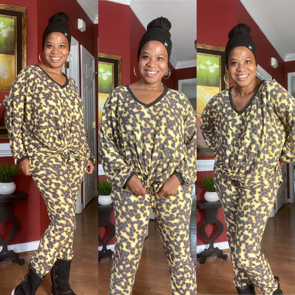 Sensational New Day Animal Print Set