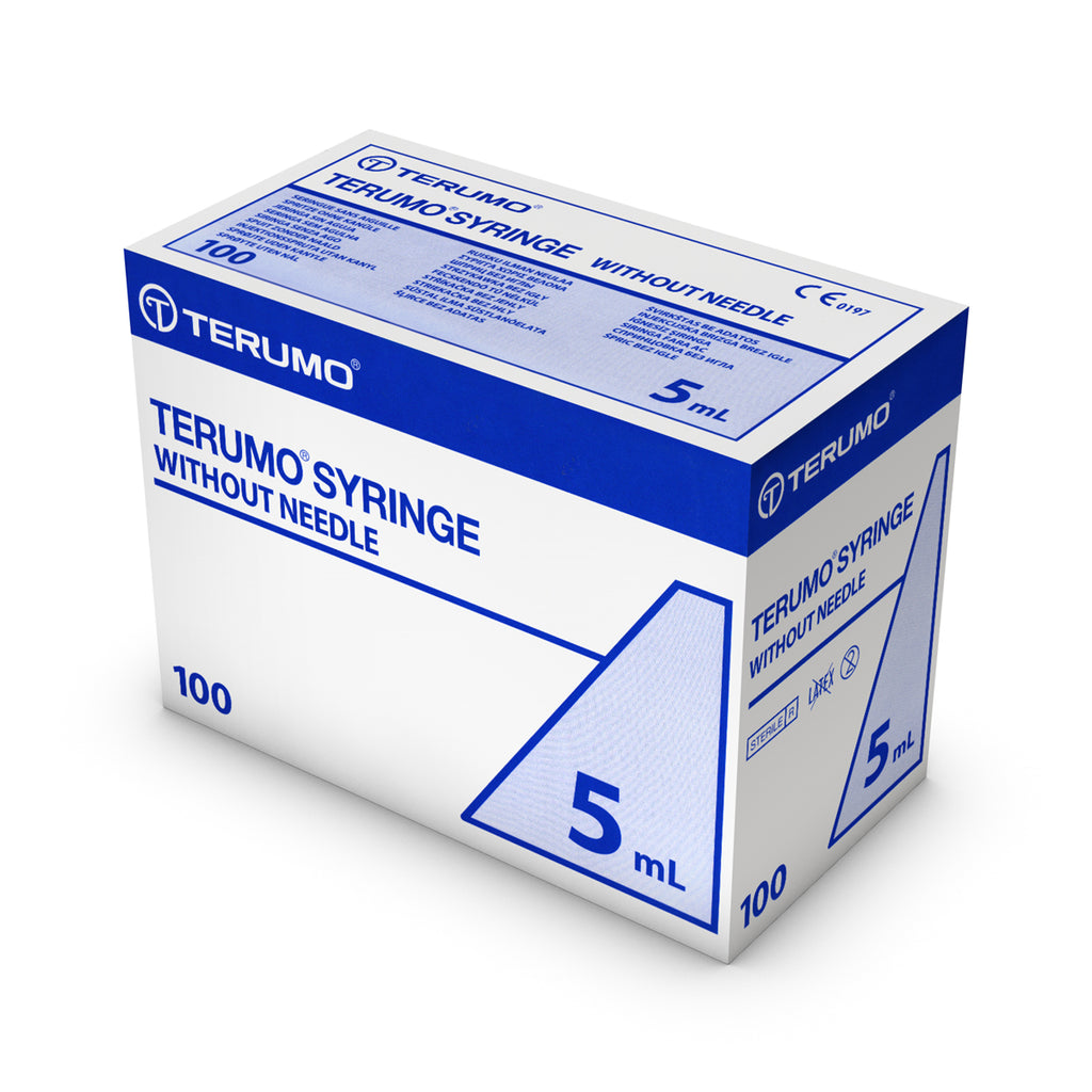 Terumo Sterile Syringes 5ml - Medbasic.co.uk
