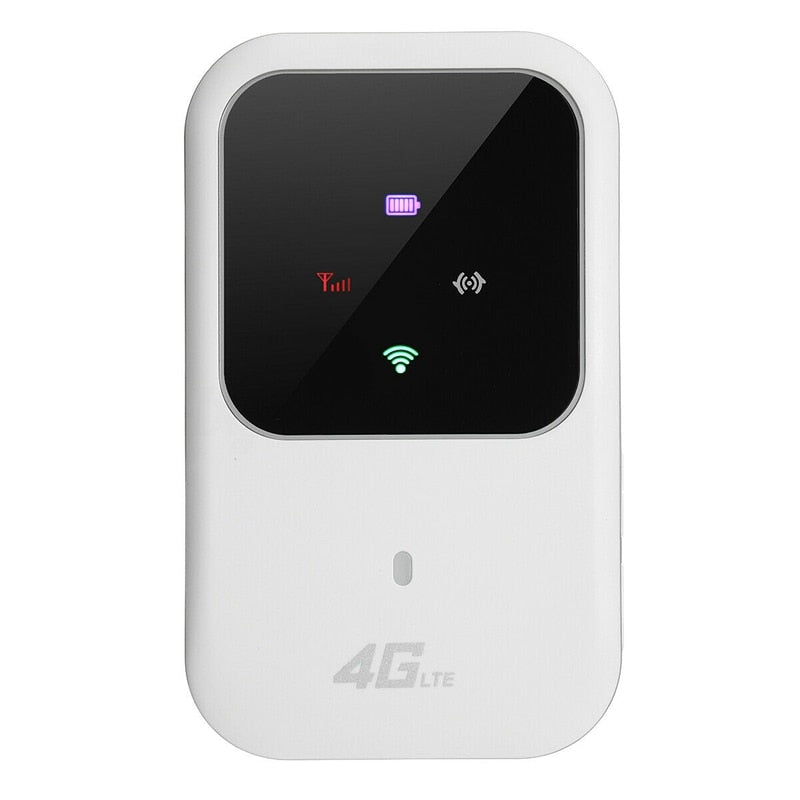 Portable 4G LTE WIFI Router 150Mbps Mobile Broadband Hotspot SIM Unlocked Wifi Modem 2.4G Wireless Router