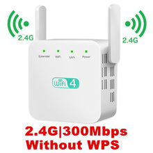 Load image into Gallery viewer, KuWfi Wireless Wifi Repeater WiFi Extender 2.4G 5G AP Router WiFi Amplifier Signal Repeater support windows xp /win10 mac os etc