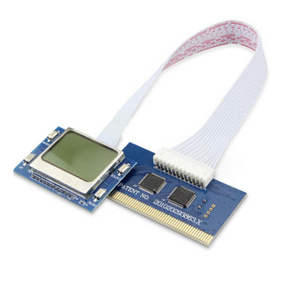 Desktop LCD Screen Test Card Network Computer Motherboard Accessories Diagnostic PCI Analyzer Mini PC PCB Detection Tools