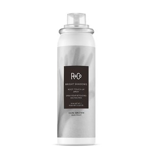 R+Co Bright Shadows Root Touch-Up Spray DARK BROWN 59ml
