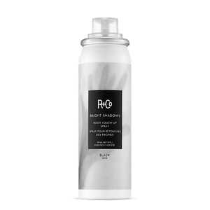 R+Co Bright Shadows Root Touch-Up Spray BLACK 59ml