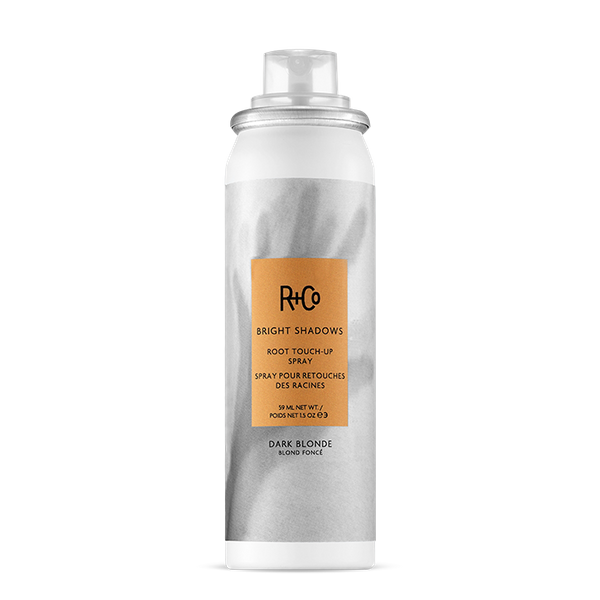 R+Co Bright Shadows Root Touch-Up Spray Dark Blonde 59ml