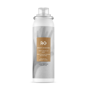 R+Co Bright Shadows Root Touch-Up Spray LIGHT BROWN 59ml