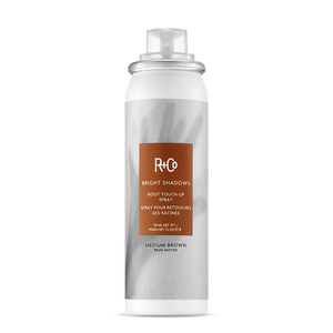 R+Co Bright Shadows Root Touch-Up Spray MEDIUM BROWN 59ml