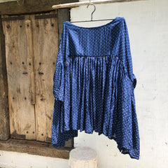 Anouk Cotton Silk Top Royal Blue