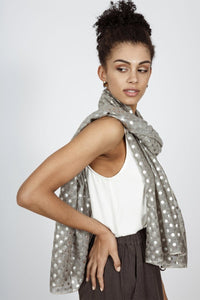 Jaunt Scarf in Charcoal